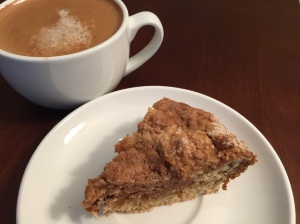 coffee shop coffee cake
