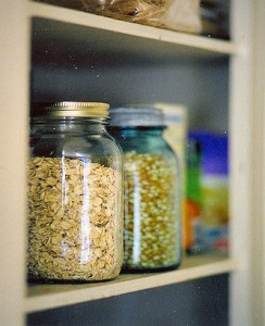 pantry staples storage
