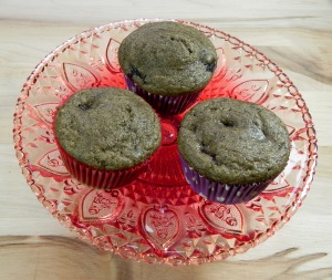 berry protein muffin