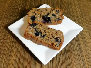 blueberry oat bread