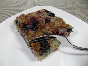 berry coffee cake