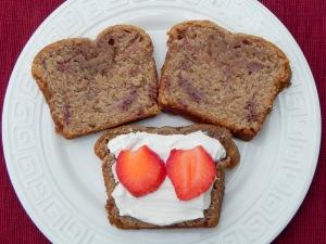 Strawberry Tea Bread
