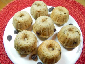 Mini Chocolate Chip Bundts