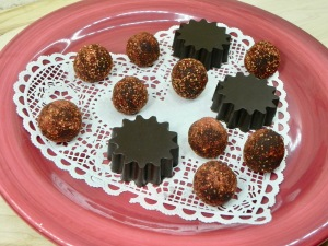 Strawberry Covered Chocolates and Peanut Butter Cups