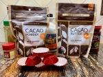 fudge ingredients with Navitas Organics