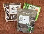 Navitas Organics maca, chia, cacao