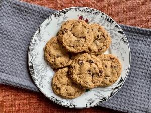 chocolate chip cookies with yogurt