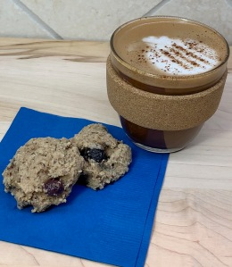Blueberry Banana Breakfast Cookies