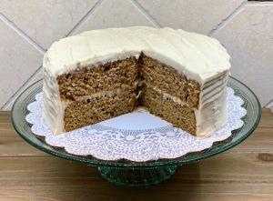 spiced zucchini layer cake