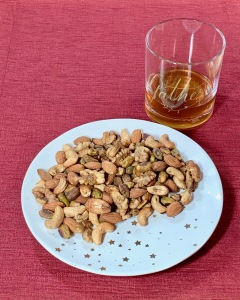 New Years Eve spiced nuts