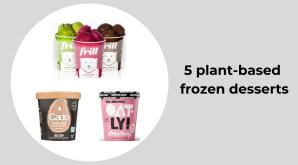 plant based frozen treats
