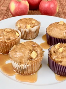 sweet new year apple muffin