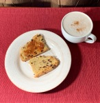 soda bread and chai tea